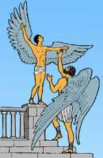 Древнегреческий миф икар и дедал